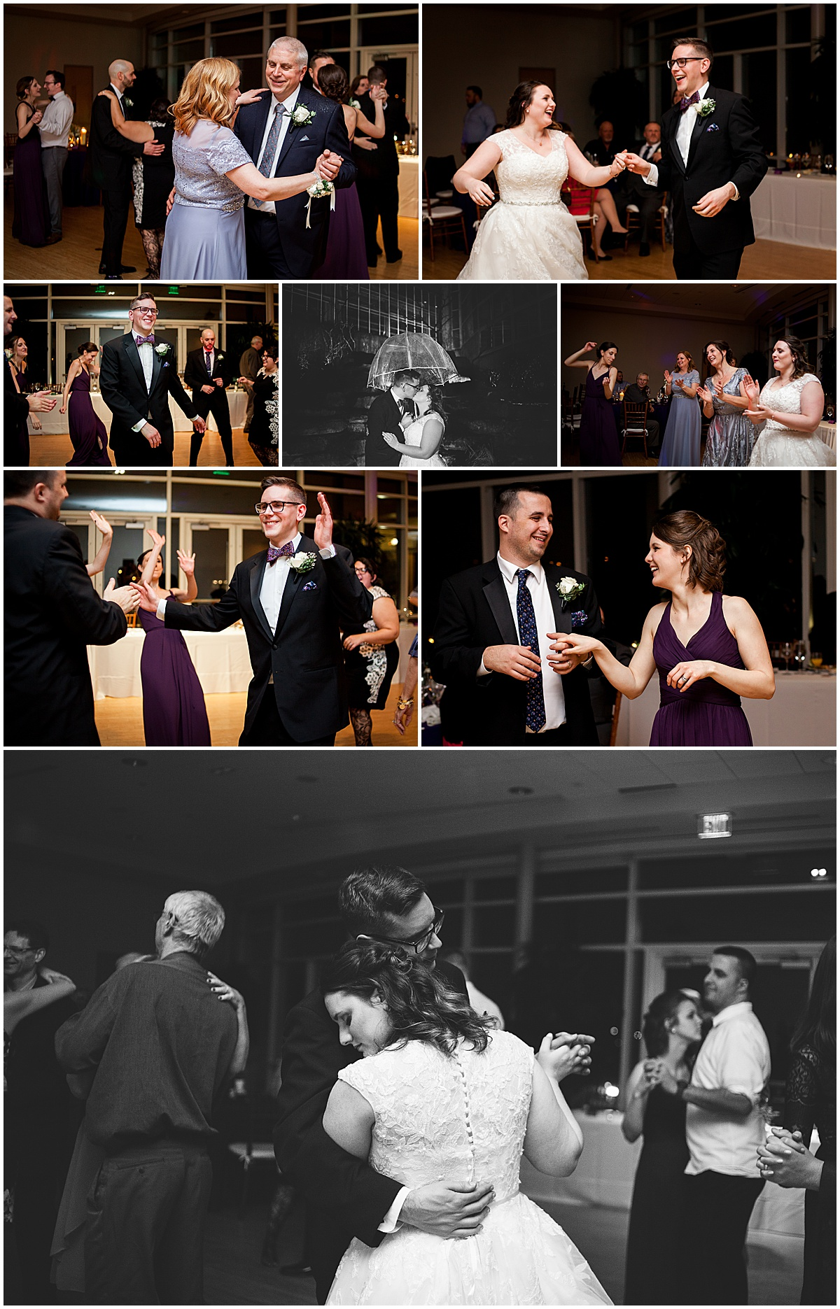 wedding dancing and reception at phipps conservatory pittsburgh