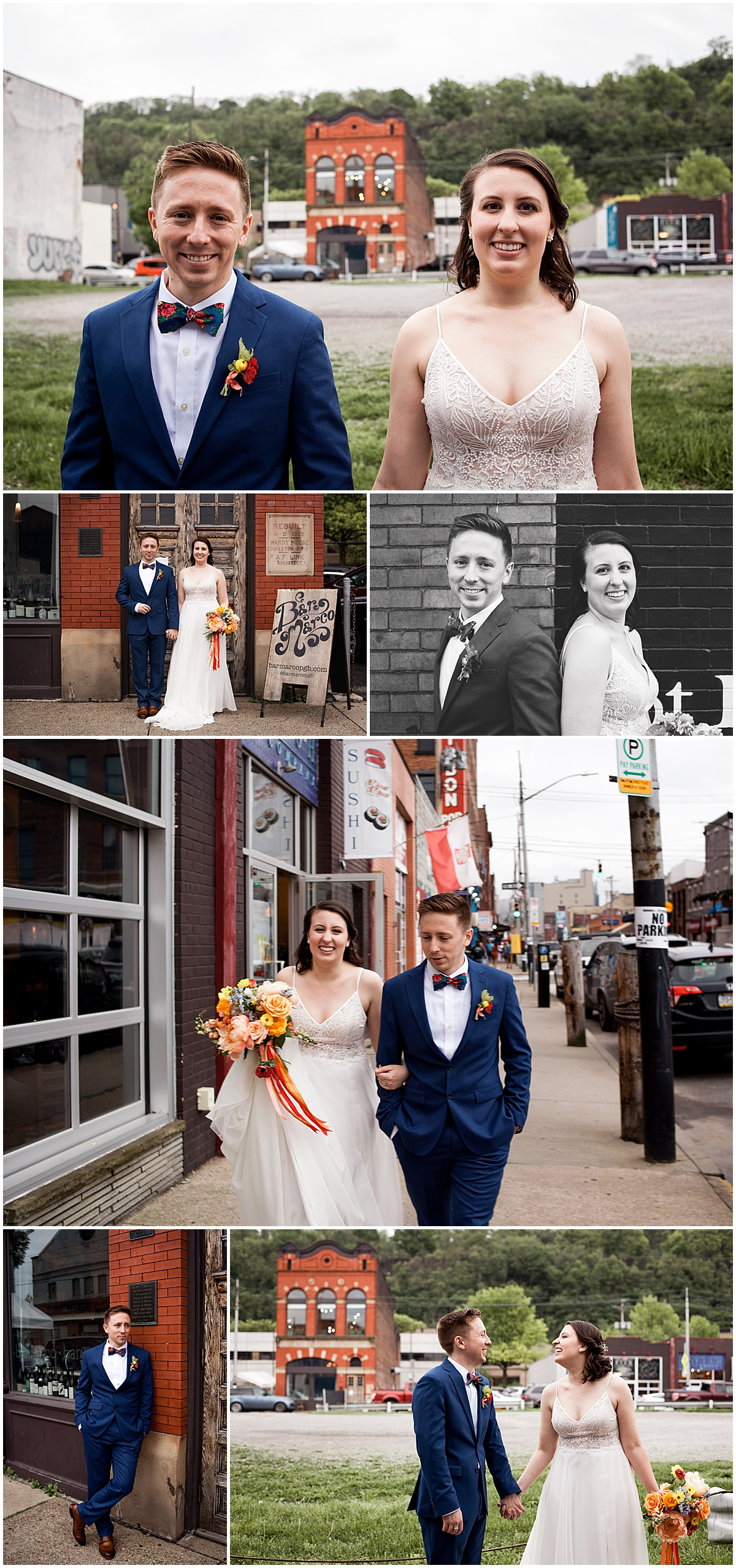 bride and groom bar marco pittsburgh pa