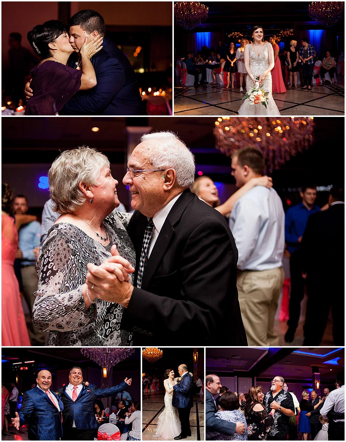wedding dancing at days in butler pa