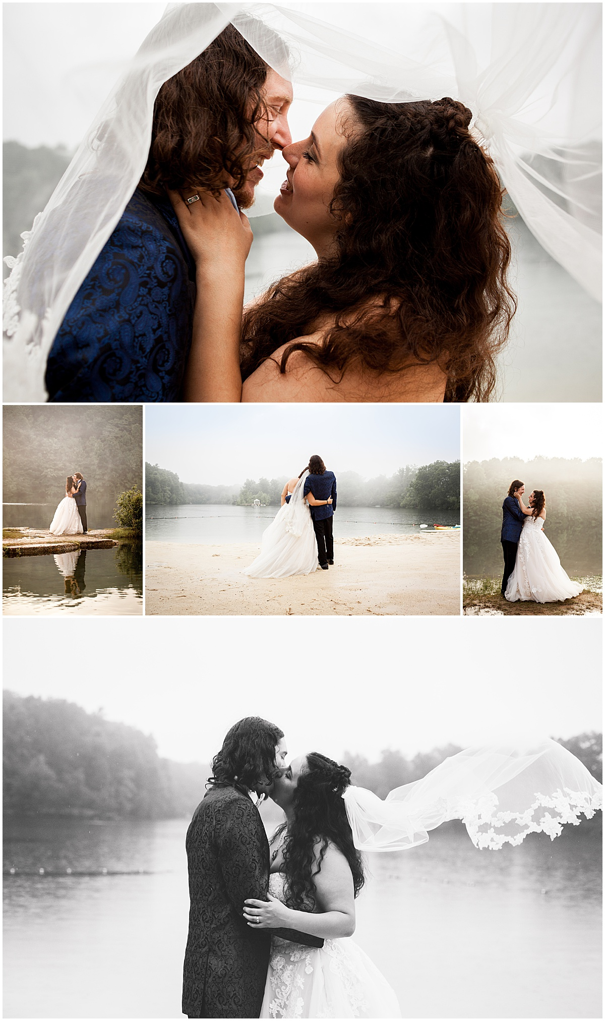 golden hour bride and groom portraits at nlqp