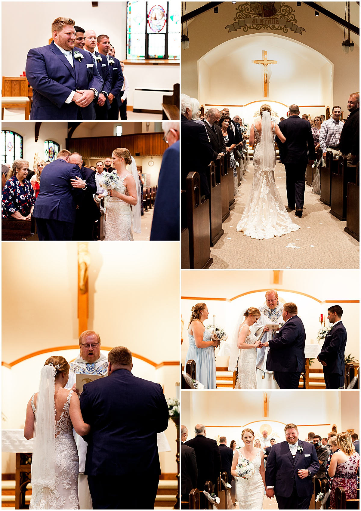 bride and groom in church greensburg pa.jpg