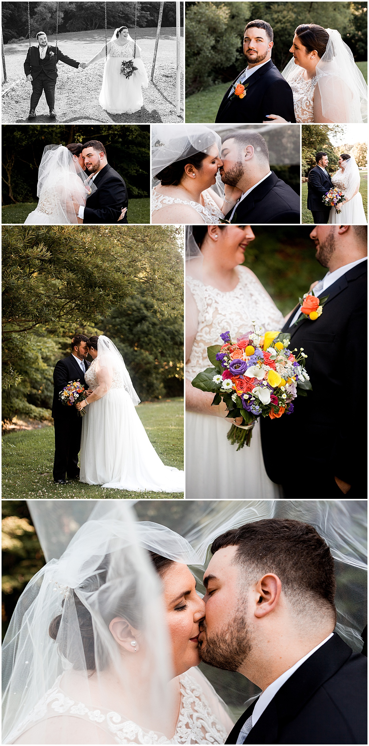 lexus and dan wedding portraits at park liz capuano photography