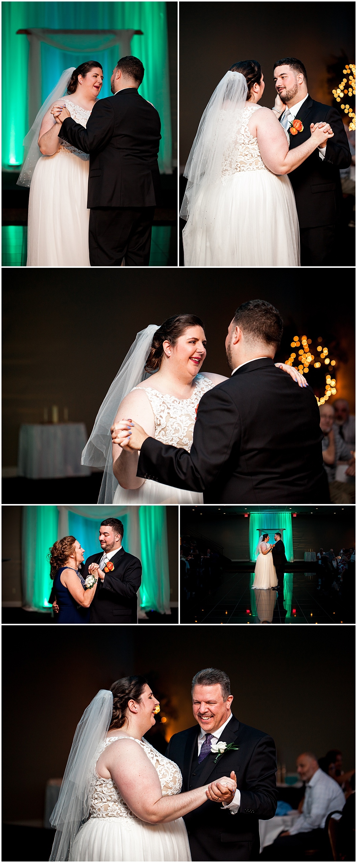 lexus and dan first dance at the fez liz capuano photography