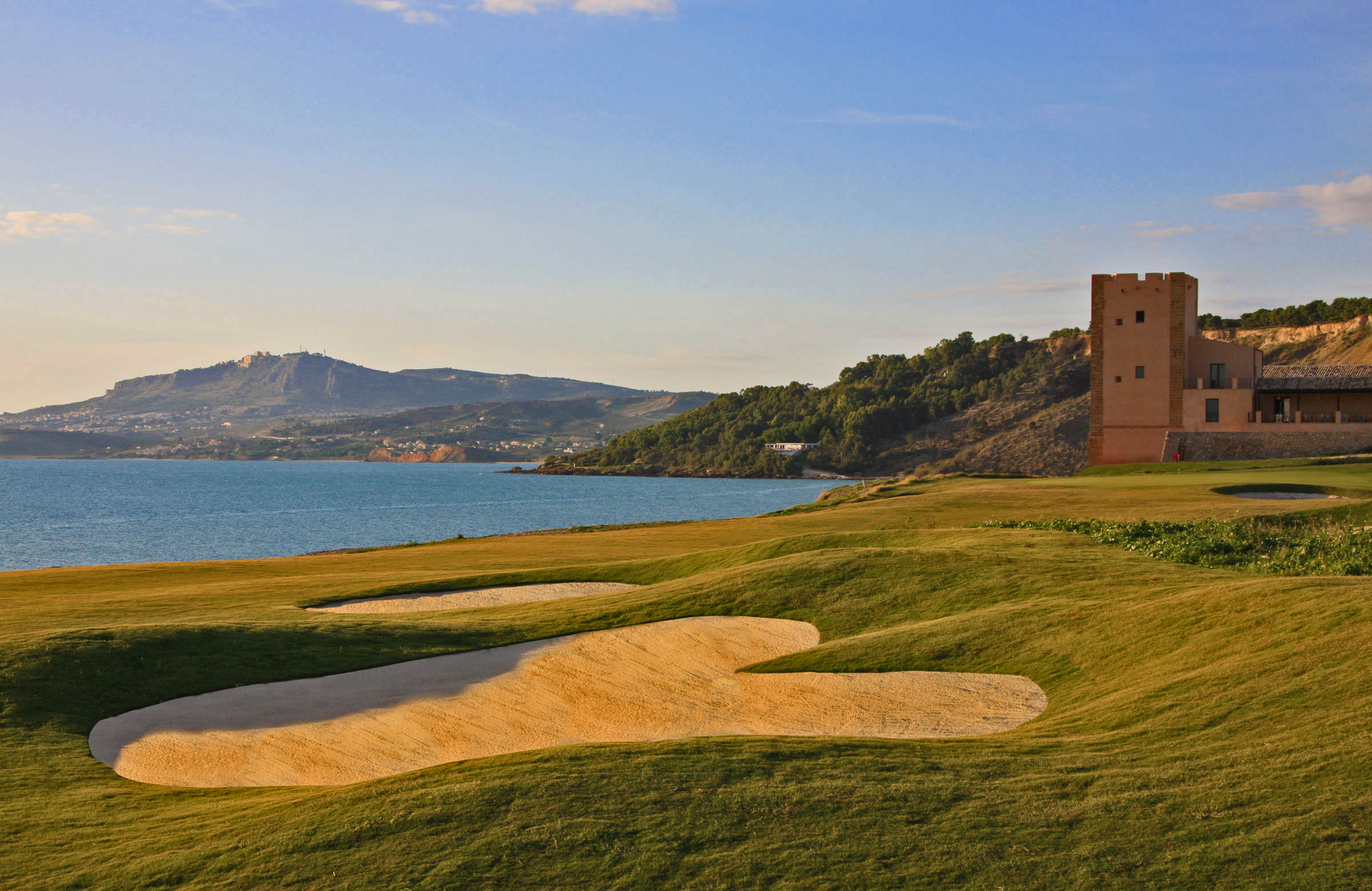 Sicily's Verdura Golf resort.