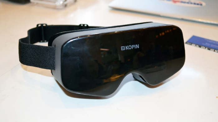 Kopin's 'Elf VR' headset!