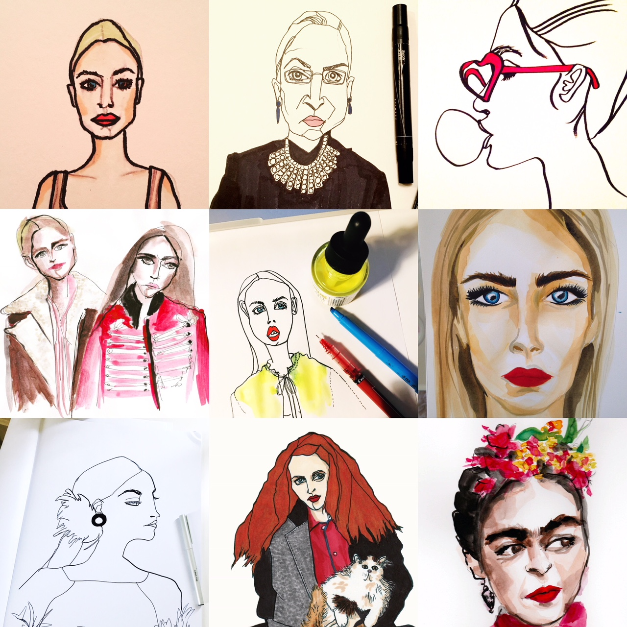 Portrait Illustrations_Eva Rose.jpg