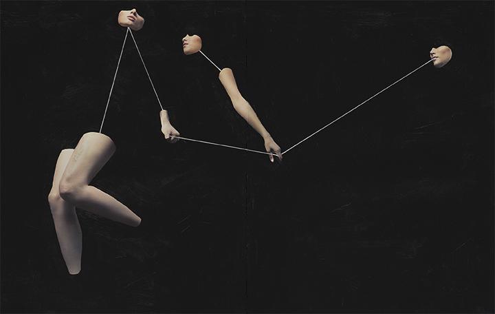 Untitled    Mixed Media  27.5 x 46 cm  2016