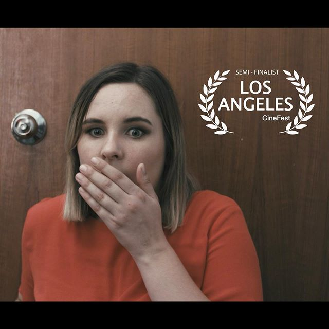 "Got some exciting news this weekend... ""Pretty Pass"" was selected as a SEMI-FINALIST for the Los Angeles CineFest. Thank you to the festival for the selection ! ""Later this year the festival judges will decide which films, videos, scripts... go to the next level."" The live event happens once a year in January. #shortfilm #darkcomedy #roommates #indiefilmmaking #indie #production #film #festival"