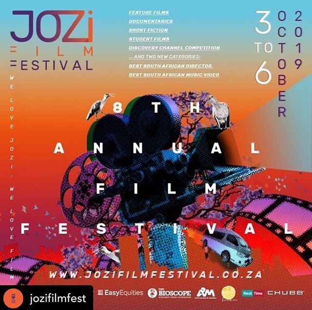 On Saturday 05/10/2019 at 12:30pm - Pretty Pass will premiere at the @jozifilmfest in South Africa at the Bioscope Theatre.  Check out the link for tickets, under the international fiction section: https://www.thebioscope.co.za/attractions/ .  #filmmaker #michelleclaase #shortfilm #premiere #internationalshortfilm #screenwriter #producer #filmmaker #southafrican #film #cinema #theatre #filmfrstival #filmpremiere