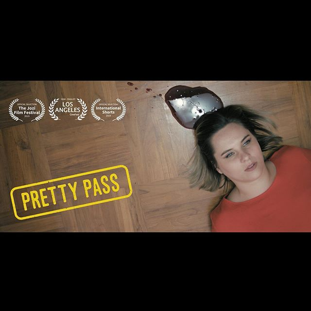 🤩 Pretty Pass is having it's first ever screening right now @jozifilmfest alongside other international short films at the Bioscope theatre in Johannesburg, South Africa!  I so wish I could be there! It's such an honor to have a story I wrote, edited and produced, screen in my homeland!! #worldpremiere #shortfilm #filmmaker #indiefilm #international #southafrican