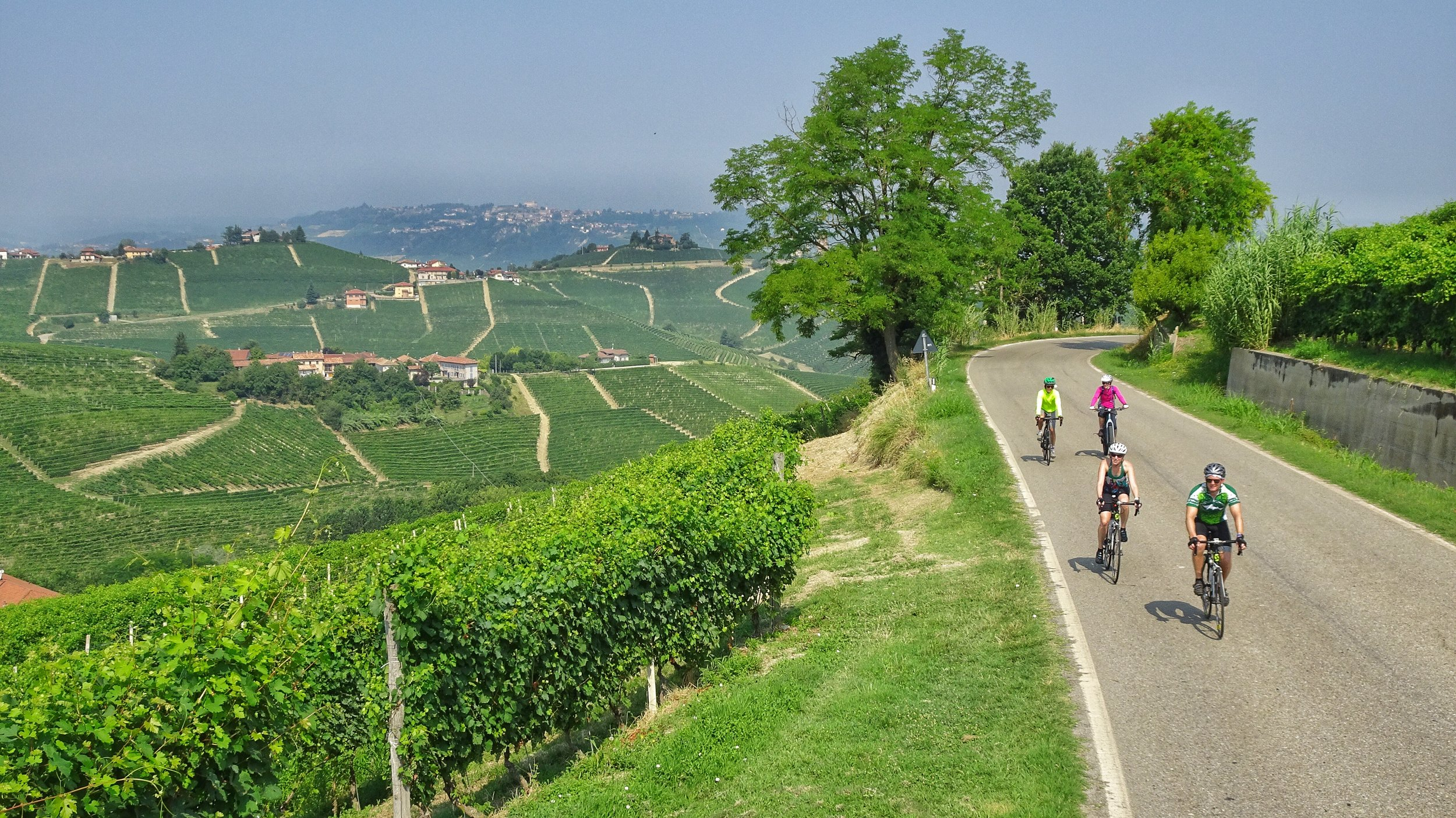 All roads lead to Barabaresco. The vino ain't bad either.