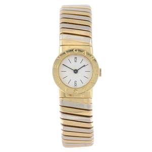 Bulgari Tubogas 18ct Gold Ladie' Bracelet Watch - Est £1800 to £2600