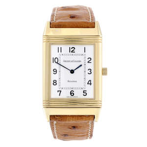 Jaeger LeCoultre Reverso 18ct Yellow Gold Ladie's Watch - Est £1800 to £2600