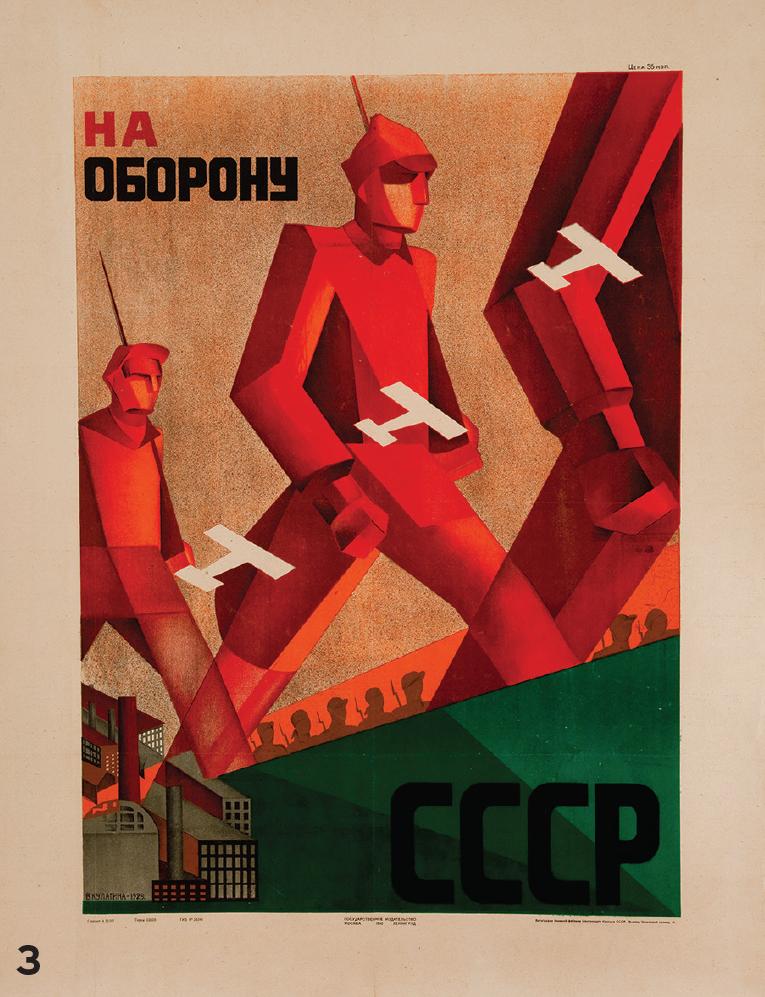 3. Valentina Kulagina (1902-1987)   Poster For the Defence of USSR (Naoboronu SSSR), 1930.   ©Ne boltai!   Collection, Prague