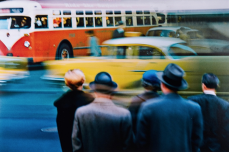 Ernst Haas, New York City, NY, 1952, est. £3,000-£5,000