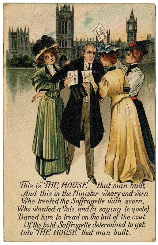 This postcard was a highlight from a collection of historic cards sold at Bonhams in 2009