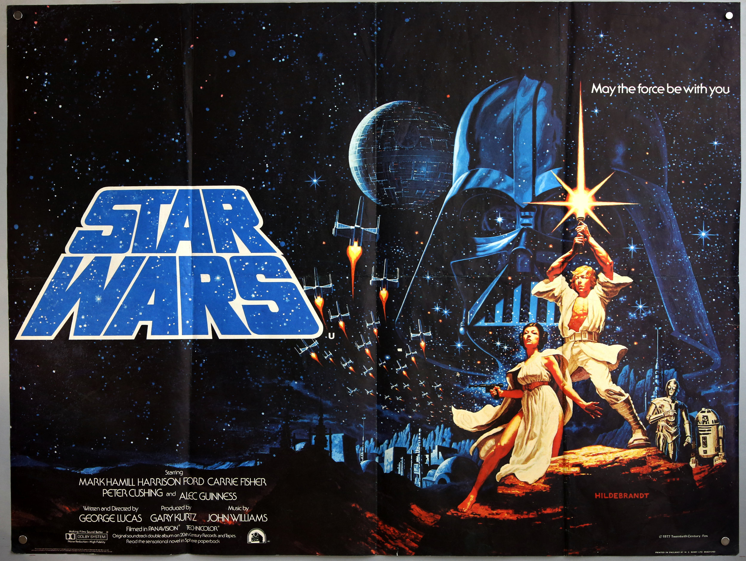 Star Wars poster – estimate £2500-3000