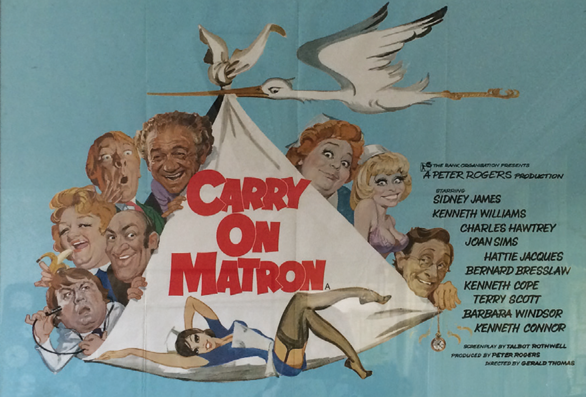 Carry On Matron  Quad poster, 1972, £195