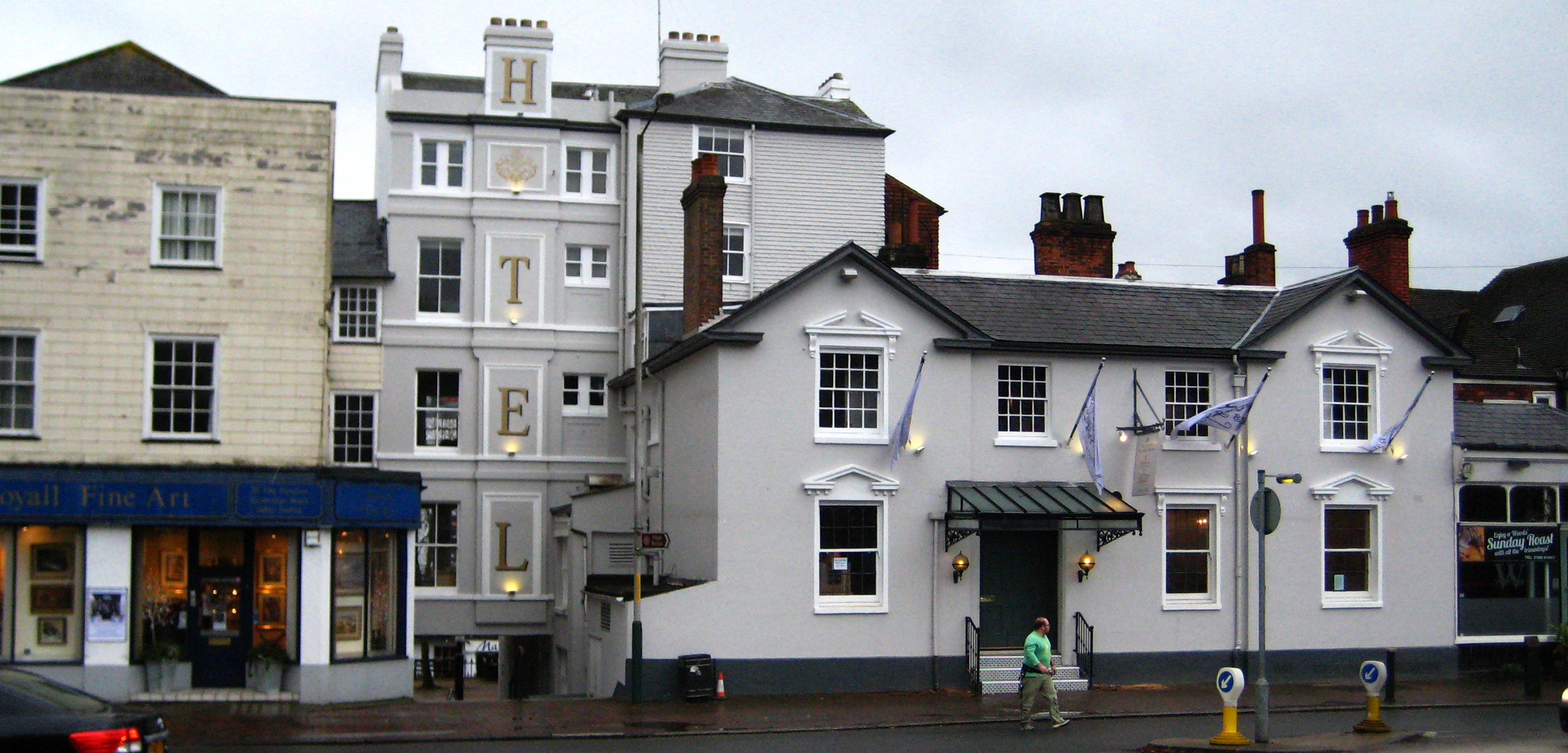 THE TUNBRIDGE WELLS HOTEL - complete refurbishment