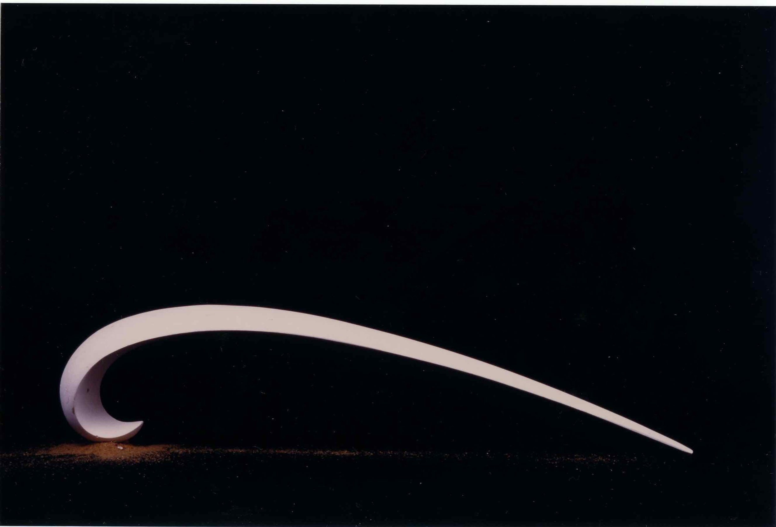 ©Caroline Lambard - Flowform 2 - carved plaster