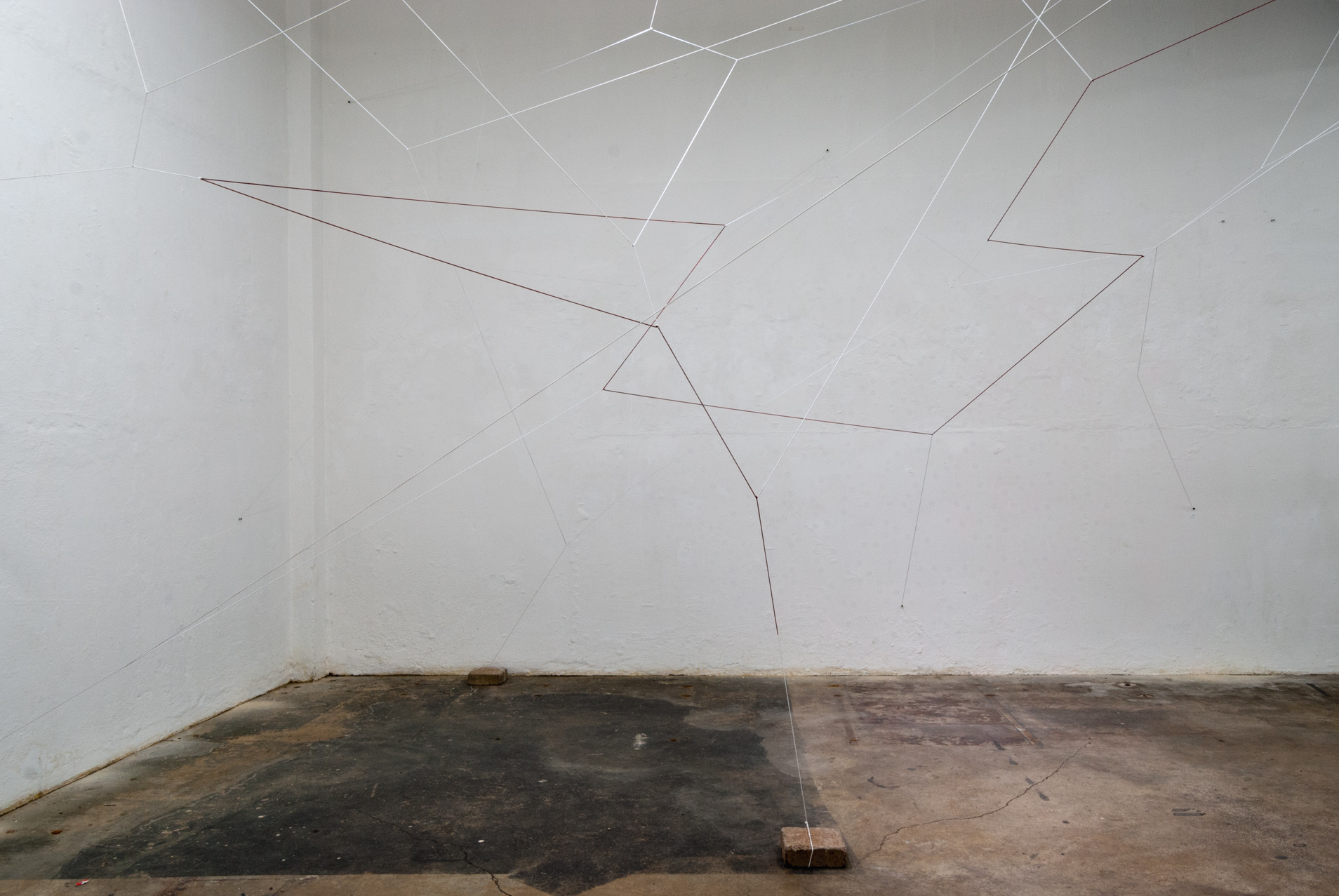 Caroline Lambard - echo chamber installation