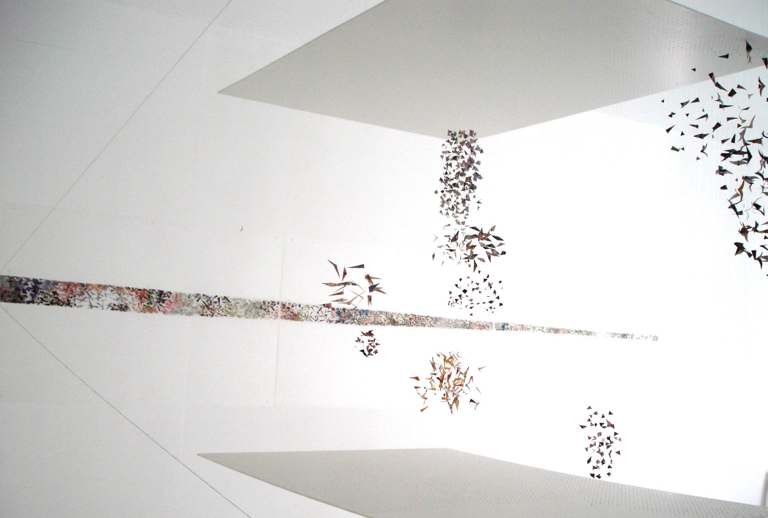 Caroline Lambard - Timeline installation