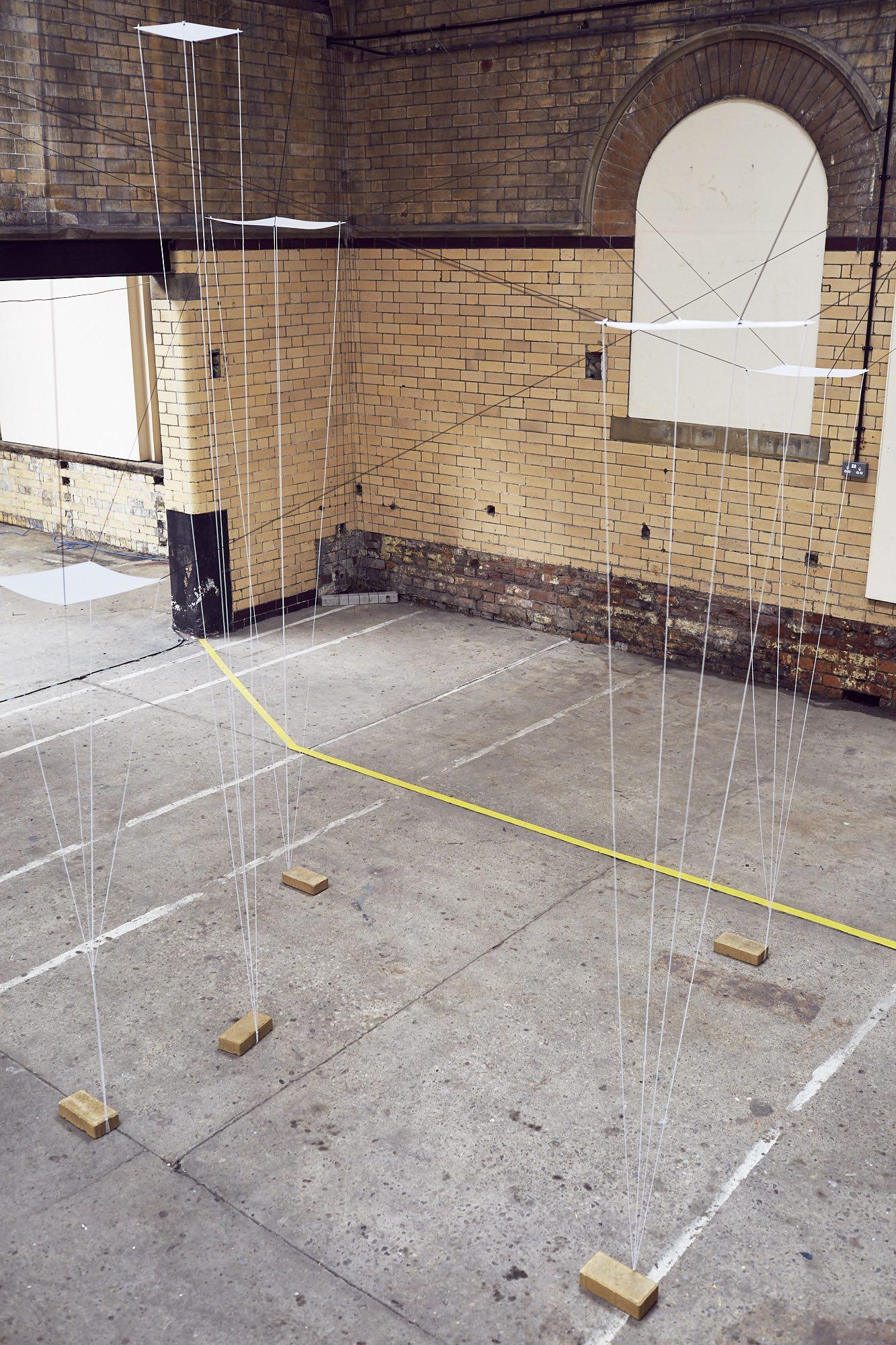 In Transit installation - Caroline Lambard - photo: Lee Thompson