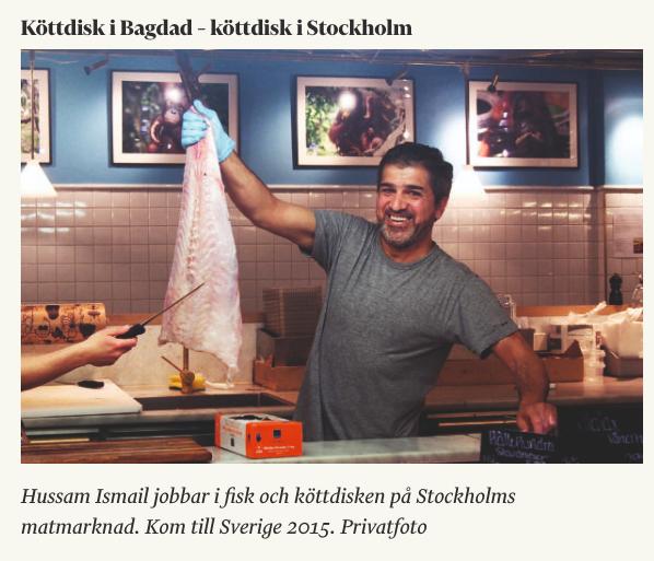 Hussam i Tidningen Arbetet 11/2 - 2019
