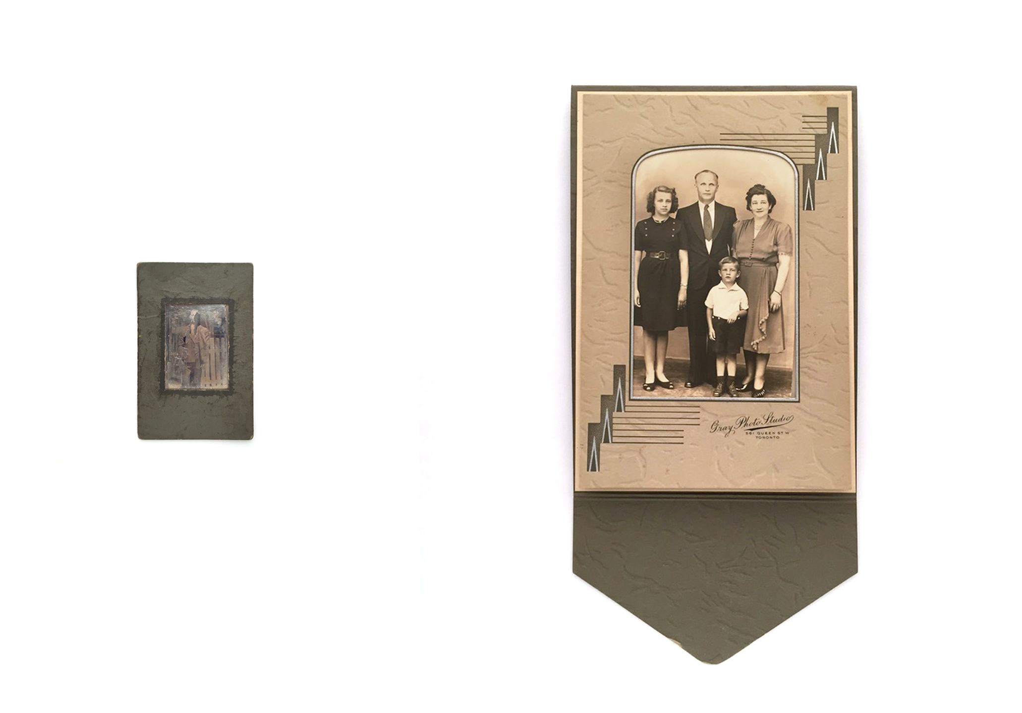 Fig. 1: Portraits of My Paternal Grandfather & Family, Machinski (2018)