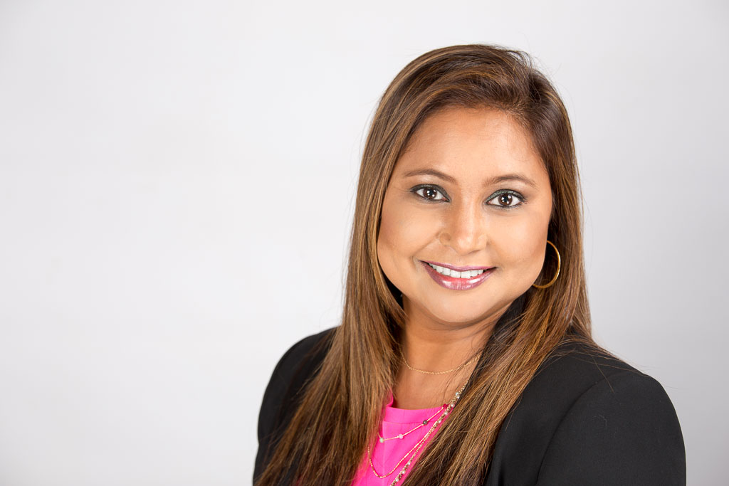 One of Pradeshnee Deoki's Corporate Head Shots