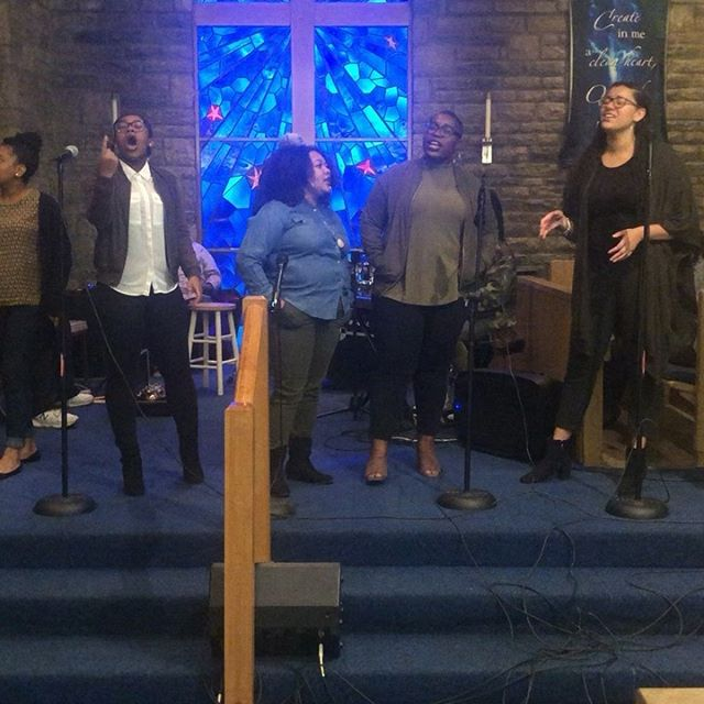Beyond blessed by these Ohio University students who came to celebrate with us. They were just warming up. ❤️#ohiouniversity #singers