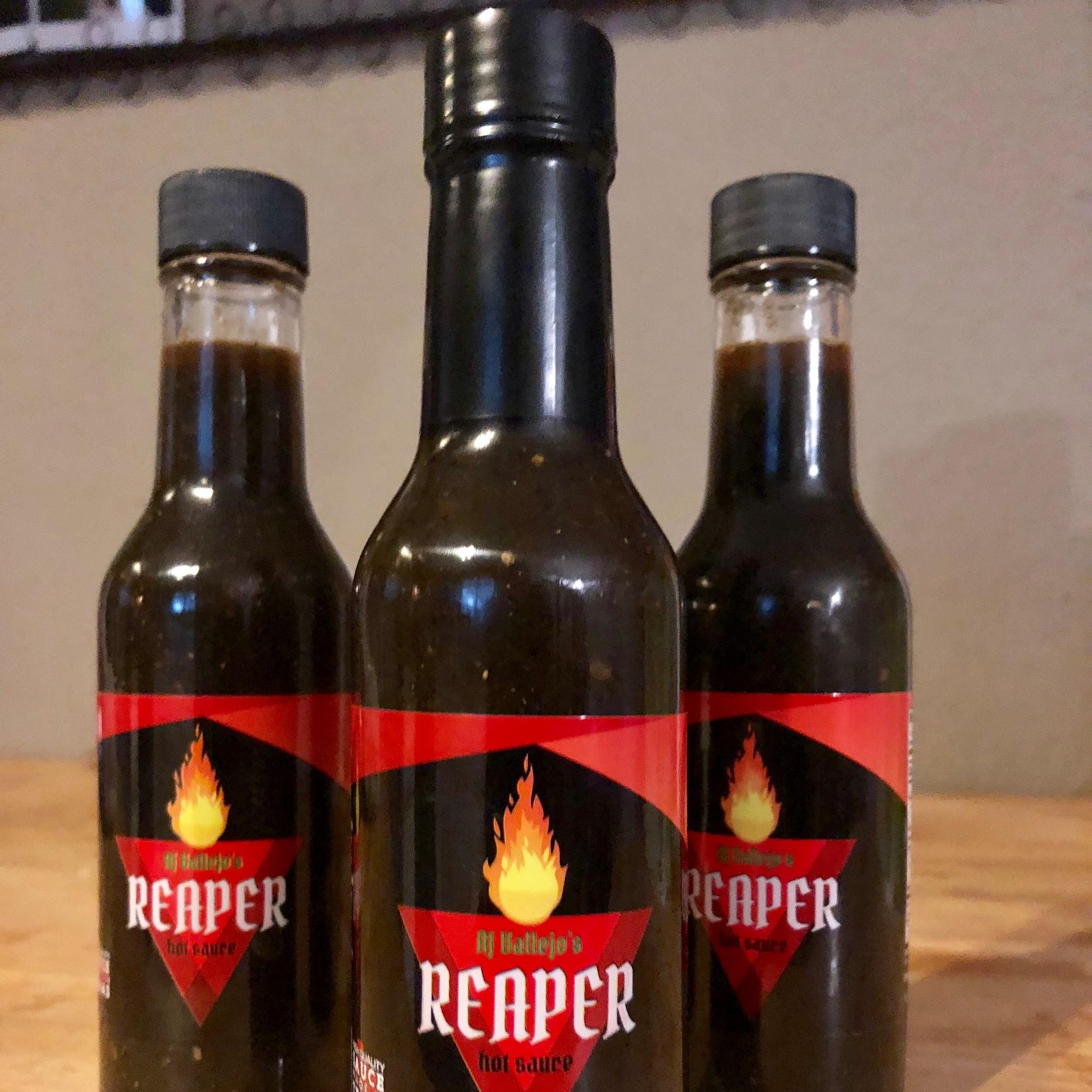 AJ Vallejo's REAPER Hot Sauce