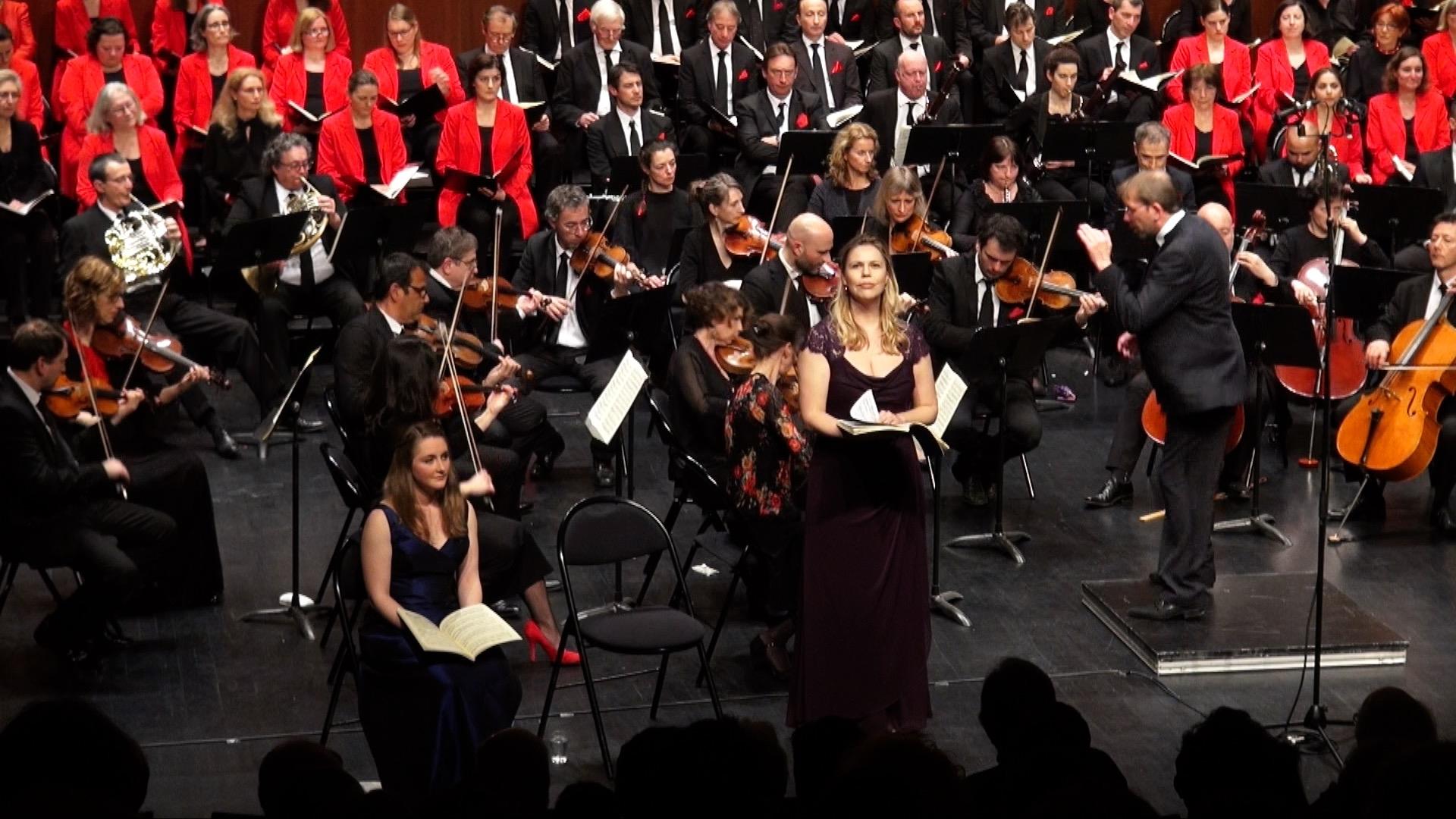 Mozart: Great Mass in C minor,Ensemble Orchestral des Hauts-de-Seine. Courbevoie, photo: Erwan de Kerautem