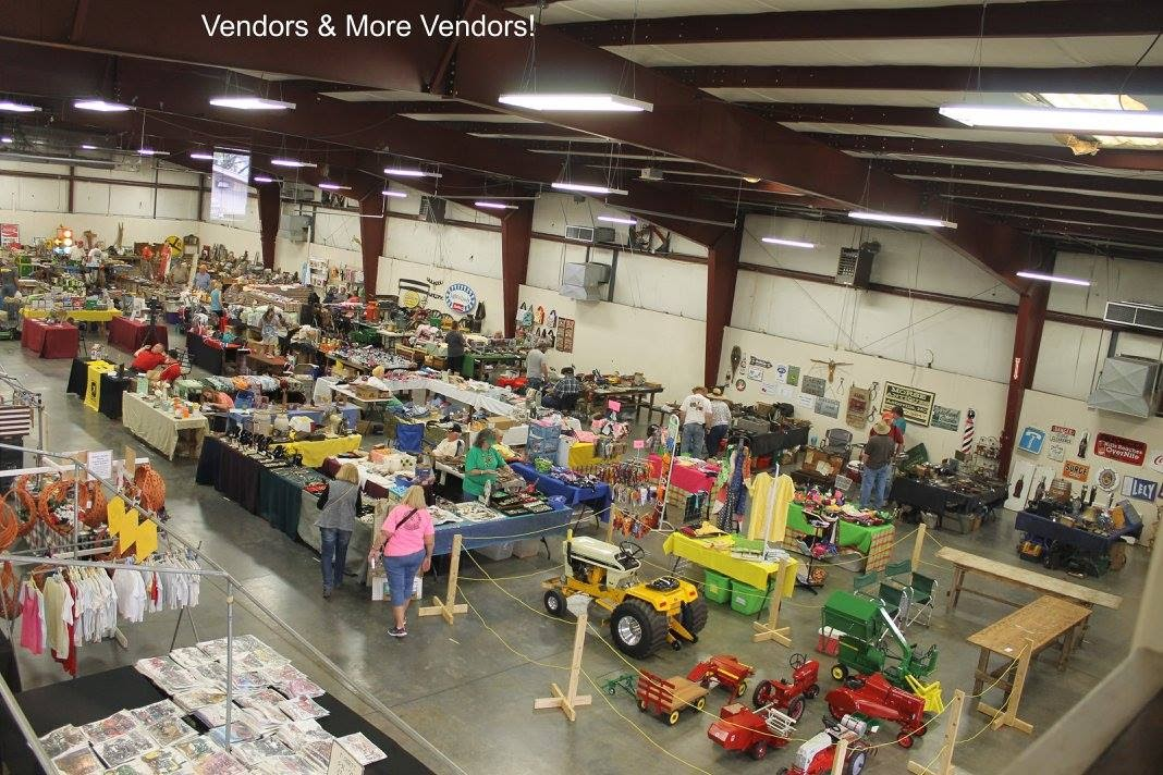 Tri-State Antique Power Association shows have over 100 vendors.