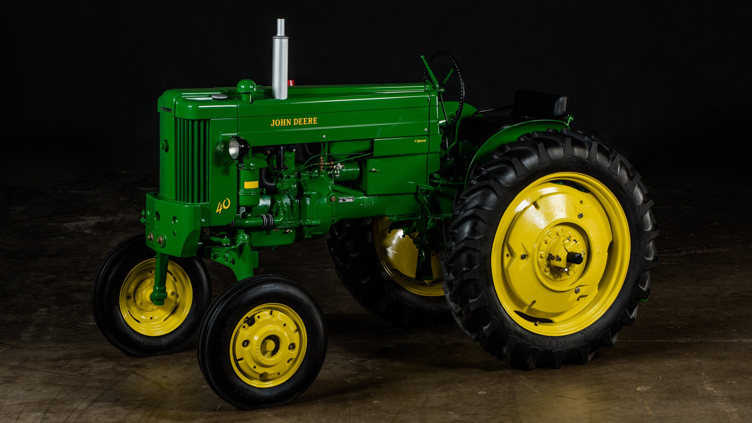 Up for auction is this John Deere 1960 40V All Fuel.   Mecum Auctions