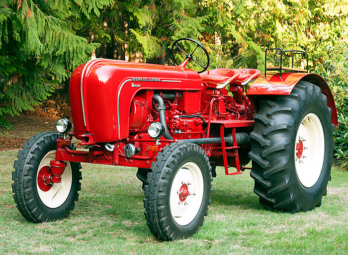Trust me this guy knows about vintage tractors!