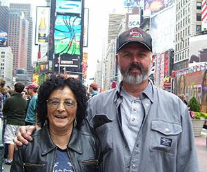 Aunnitta White and David King