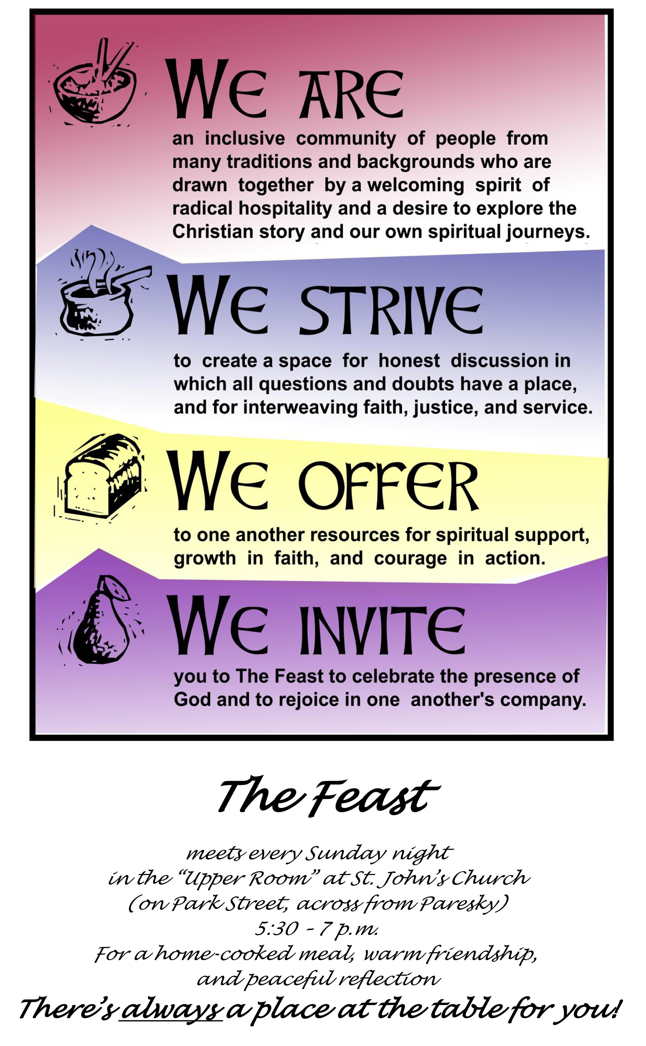 THE FEAST poster (color) w. stmt of purpose.jpg