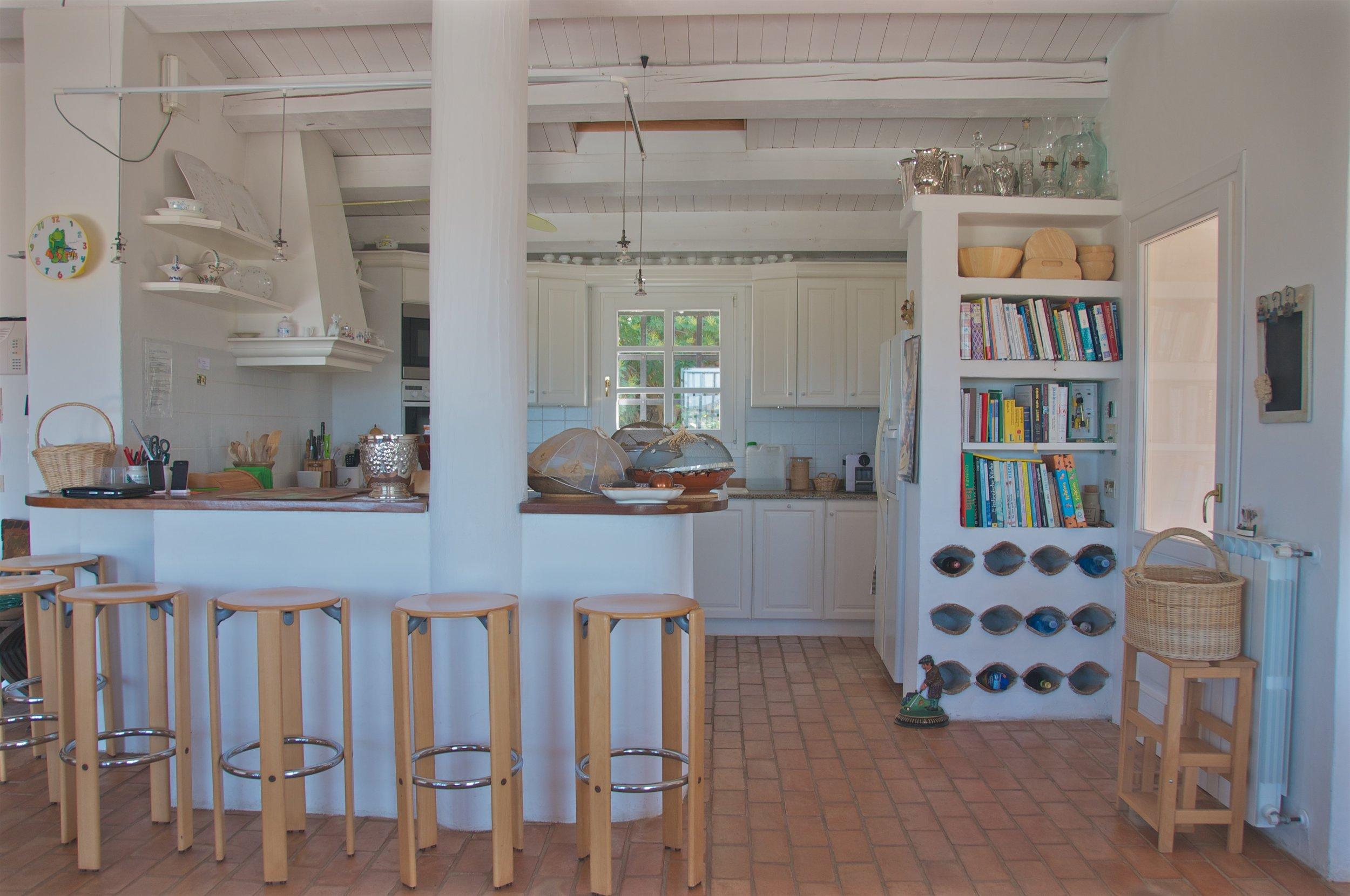 Eine professionell eingerichtete   Offene Küche   für ihre Lieblingsgerichte