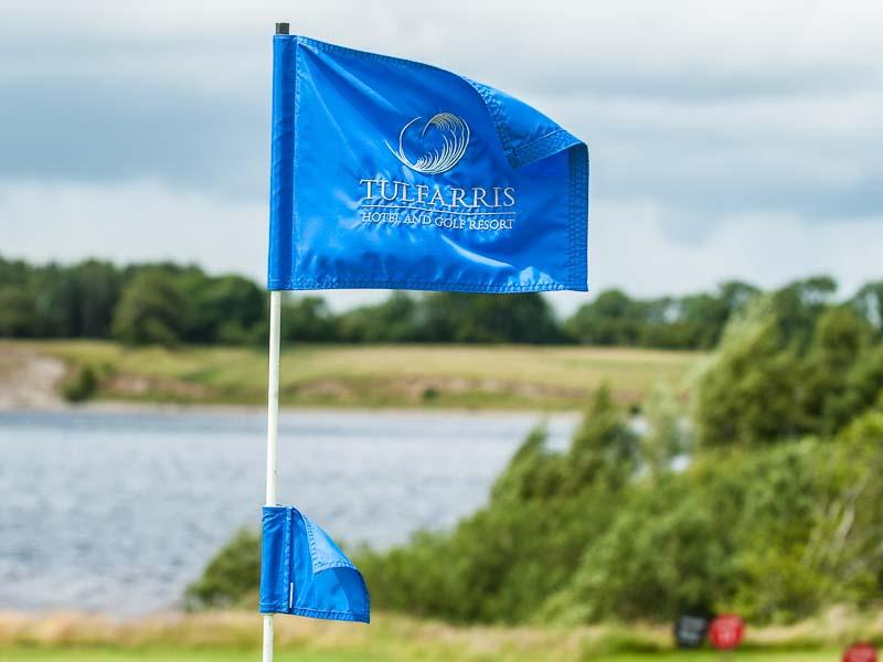 Tulfarris Hotel and Golf Resort Flag on golf course.jpg