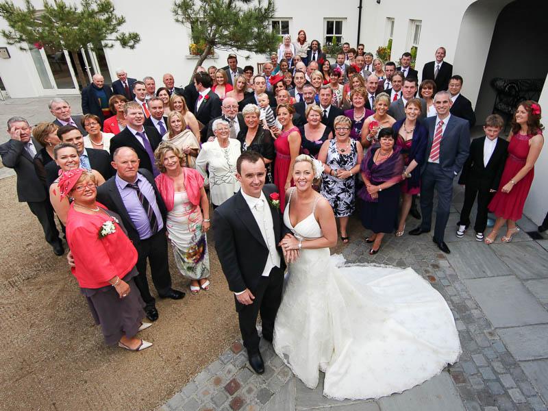 Wedding Party in Tulfarris Courtyard.jpg