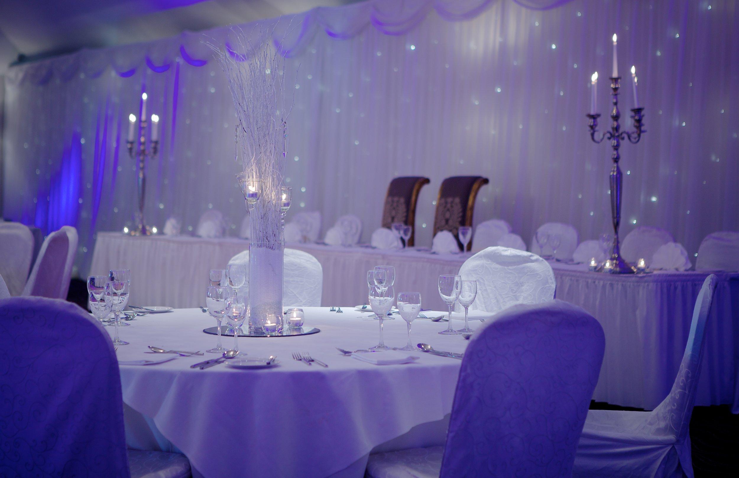 winter wedding reception at Tulfarris Hotel.jpg