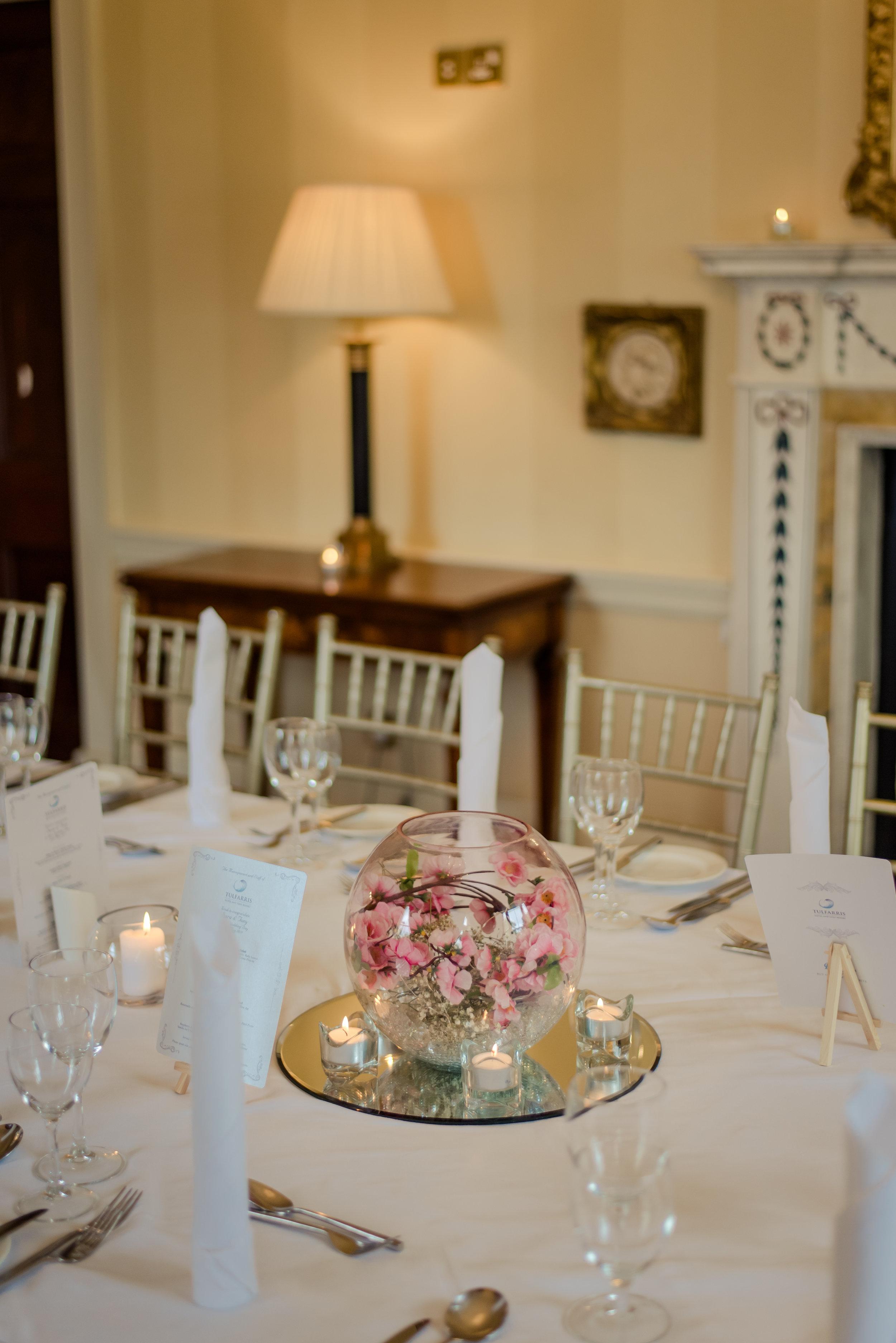 Tulfarris Hotel & Golf Resort Manor House corporate dinner setting.jpg