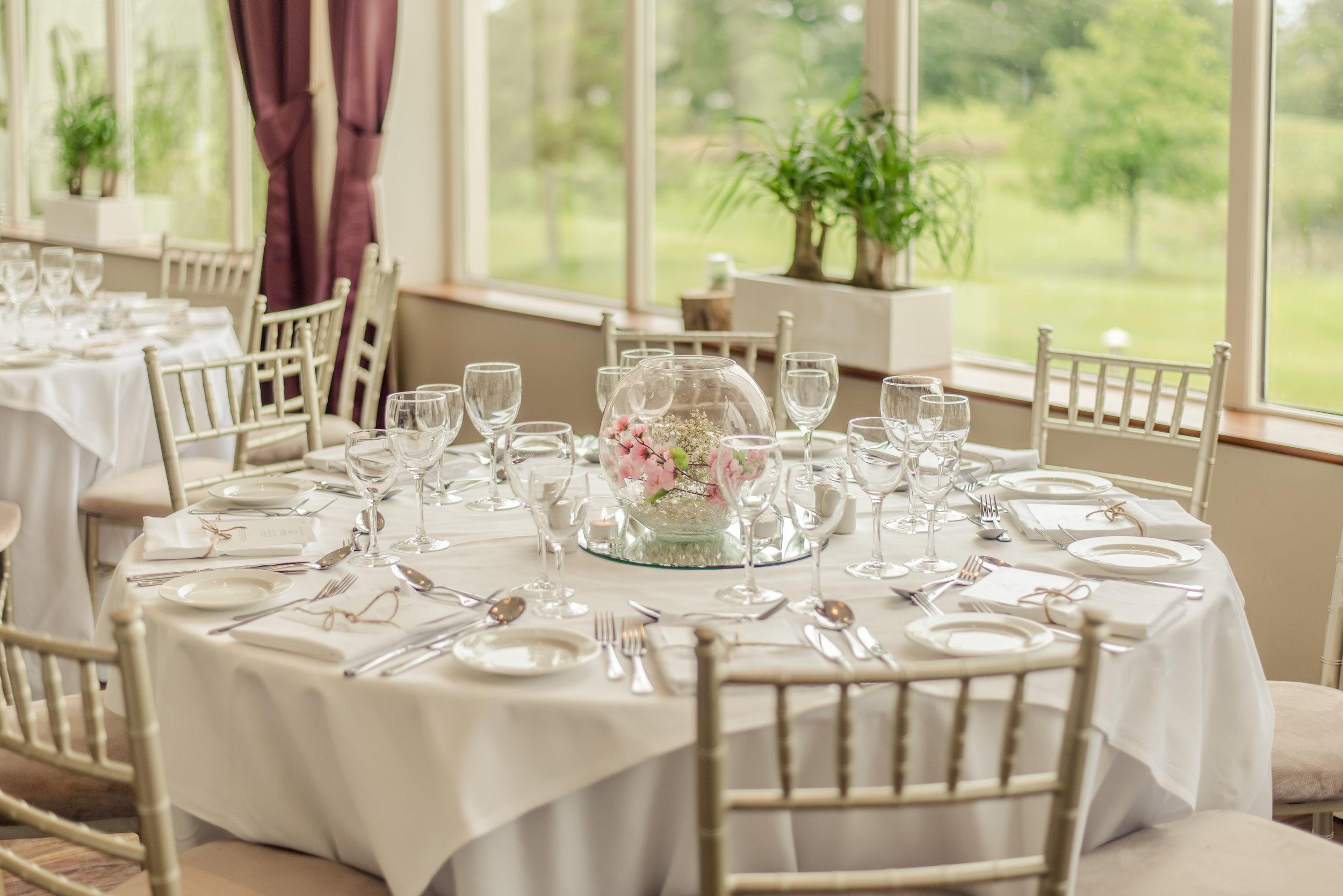 Tulfarris Hotel & Golf Resort above wedding table view.jpg