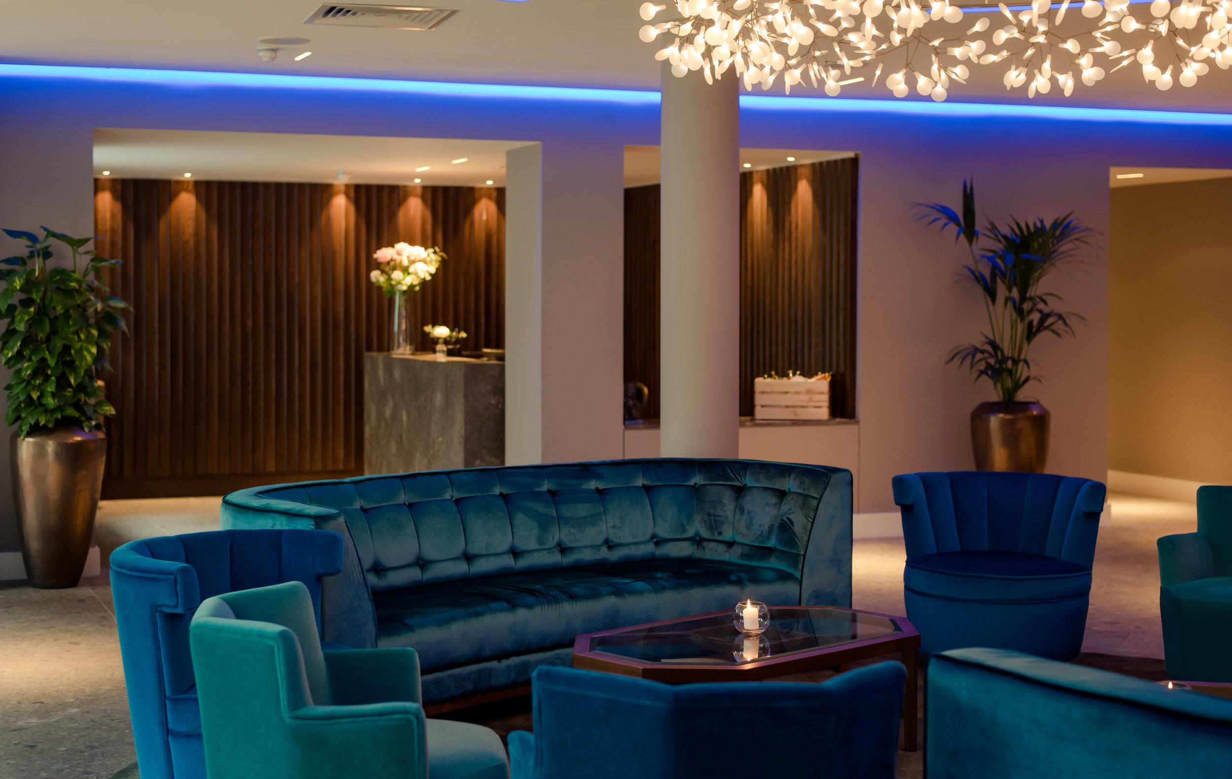 Tulfarris Hotel & Golf Resort lobby seating and reception.jpg
