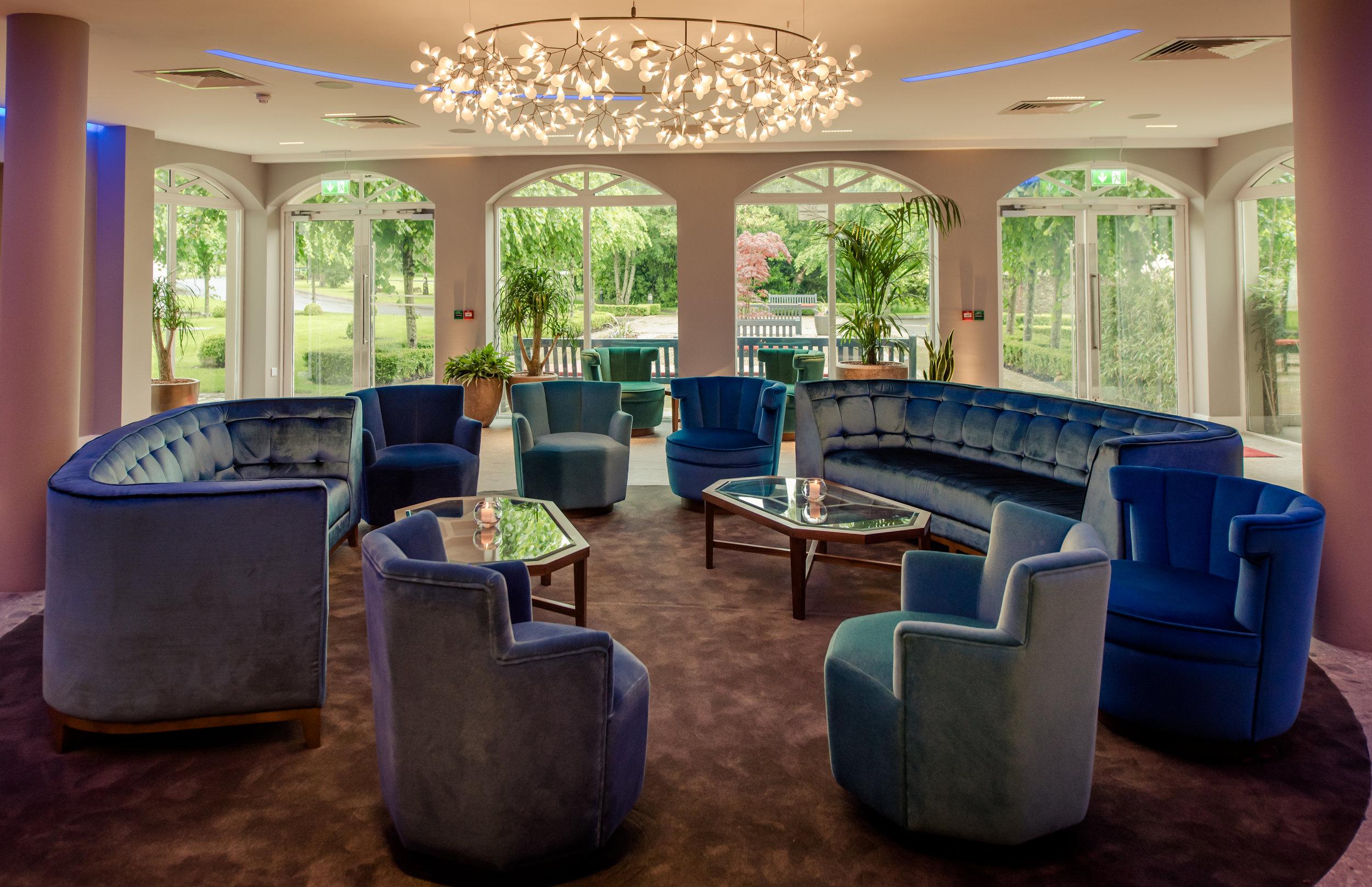 Tulfarris Hotel & Golf Resort lobby seating and view.jpg