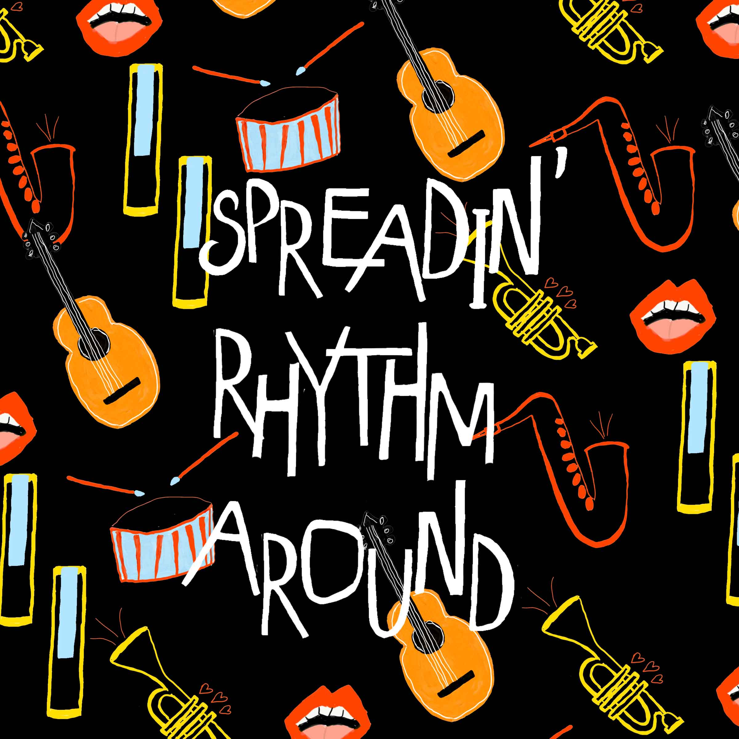 Spreadin' Rhythm Around feat. Wycliffe Gordon - 1. As Long As I Live (feat. Wycliffe Gordon)2. Pastrami on Rye3. Our Love is Here to Stay4. I Thought About You5. Too Close For Comfort6. Spreadin' Rhythm Around (feat. Wycliffe Gordon)7. Willow Weep For Me8. Illinois Jacquet Flies Again9. Mean To Me10. Mind Your Business