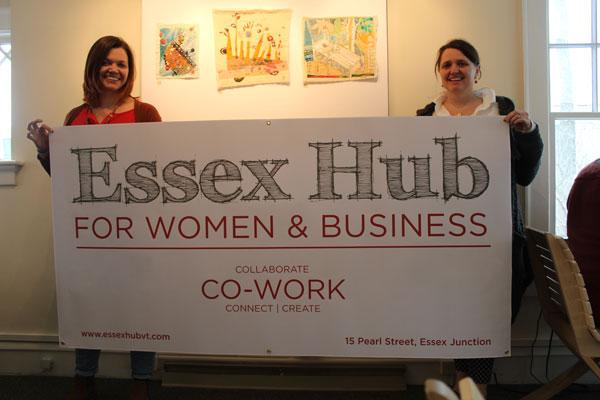 Elissa Koop and Kristin Humbargar, Essex Hub for Women & Business
