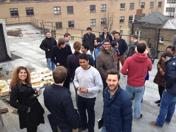 Lunch with TechStars London