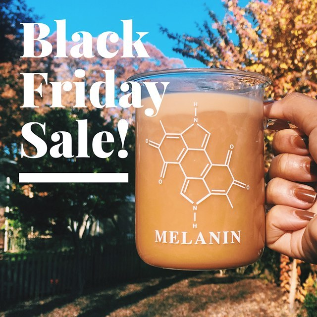 We're sharing our lowest prices EVER on The Original Melanin Beaker Mug exclusively with our Instagram fam for Black Friday! Head to www.themelaninmug.com before Friday at 11:59pm EST to get yours before this deal is gone for the season!